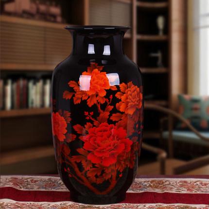 花开富贵花瓶