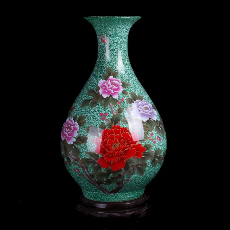 花开富贵瓶
